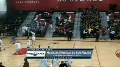 Madison Memorial at Sun Prairie boys basketball