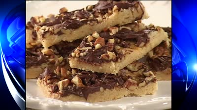 Mr. Food: English Toffee Bars
