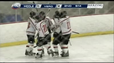 Verona boys hockey wins Big 8 conference
