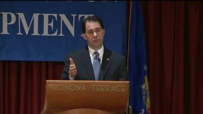 Walker unveils economic development proposal