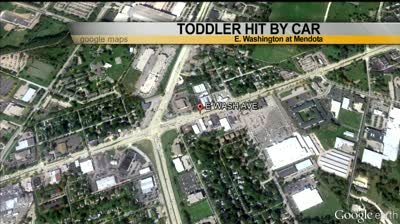 Headlines: Toddler struck by car