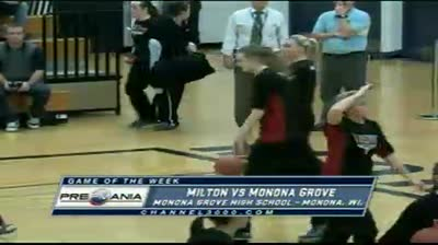 Milton at Monona Grove girls basketball