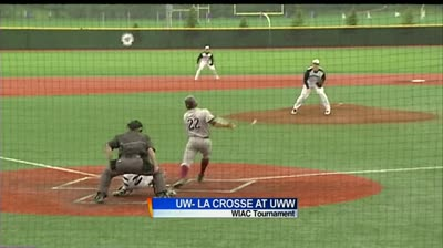 WIAC baseball: UW-La Crosse at UW-Whitewater