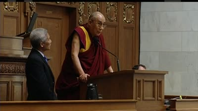 Dalai Lama tells Legislature to be compassionate