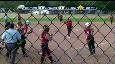 Game of the Week: Lancers softball rallies to beat Cardinals in 11 innings