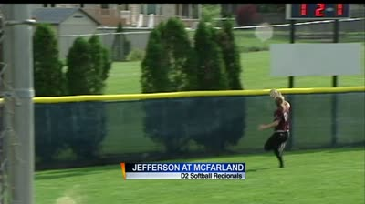 Softball Regionals: McFarland beats Jefferson 6-3
