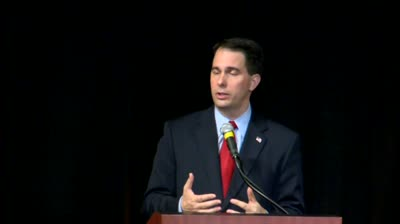 Walker's speech in Iowa watched closely for future political ambitions