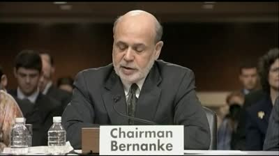 Moneywatch: All eyes on Bernanke