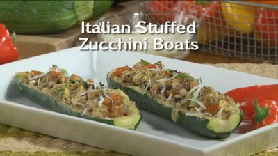 Mr. Food: Italian Stuffed Zucchini Boats