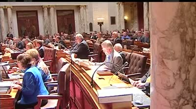State lawmakers table budget amendment, debate until Wednesday